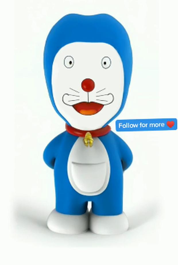 Giật mình khi thấy Doraemon biến thành thảm họa dao kéo, còn đâu Mèo Ú đáng yêu của tuổi thơ nữa - Ảnh 9.