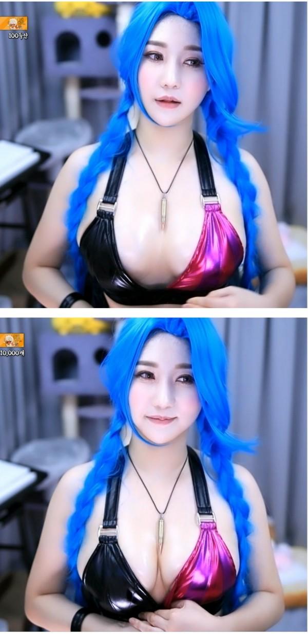Ran - cô nàng streamer xinh đẹp với vòng một siêu gợi cảm Photo-1-16320317939751771691569