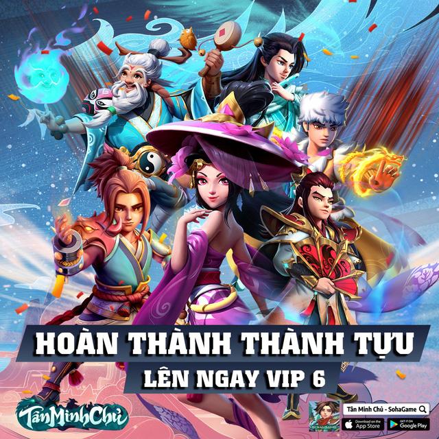 Khai mở máy chủ mới, game Việt Nam 3 lần lọt TOP Thịnh Hành - Tân Minh Chủ tặng 200 VIPCODE, tung ngàn ưu đãi - Ảnh 6.