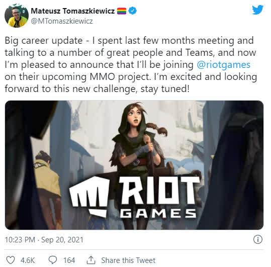 Nhà thiết kế The Witcher 3 bắt tay cùng Riot Games ra mắt game MMO cho LMHT - Ảnh 2.