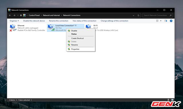 Hô biến Laptop Windows thành một chiếc router ảo để chia sẻ kết nối Internet và tập tin - Ảnh 8.