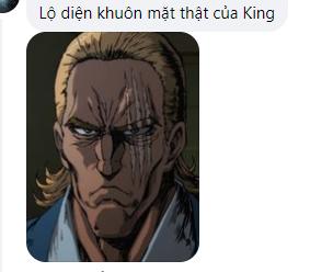 Fan One Piece mạnh dạn dự đoán King có mái tóc vàng và dung mạo của gã Thảm họa sau lớp mặt nạ - Ảnh 3.