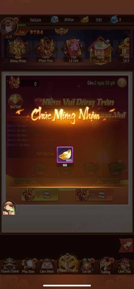 Tựa game hở ra 1 cái là tặng quà, lấy cớ tặng quà liên tục, tặng toàn tướng xịn, nổ cả chục ngàn KNB khiến game thủ không kịp trở tay - Ảnh 5.