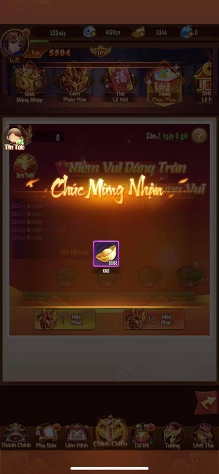 Tựa game hở ra 1 cái là tặng quà, lấy cớ tặng quà liên tục, tặng toàn tướng xịn, nổ cả chục ngàn KNB khiến game thủ không kịp trở tay - Ảnh 7.