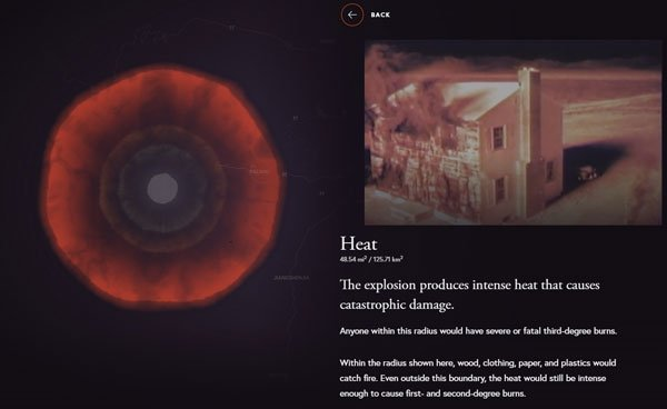 Trang web cho phép bạn thử nghiệm kích hoạt bom hạt nhân - Ảnh 5.