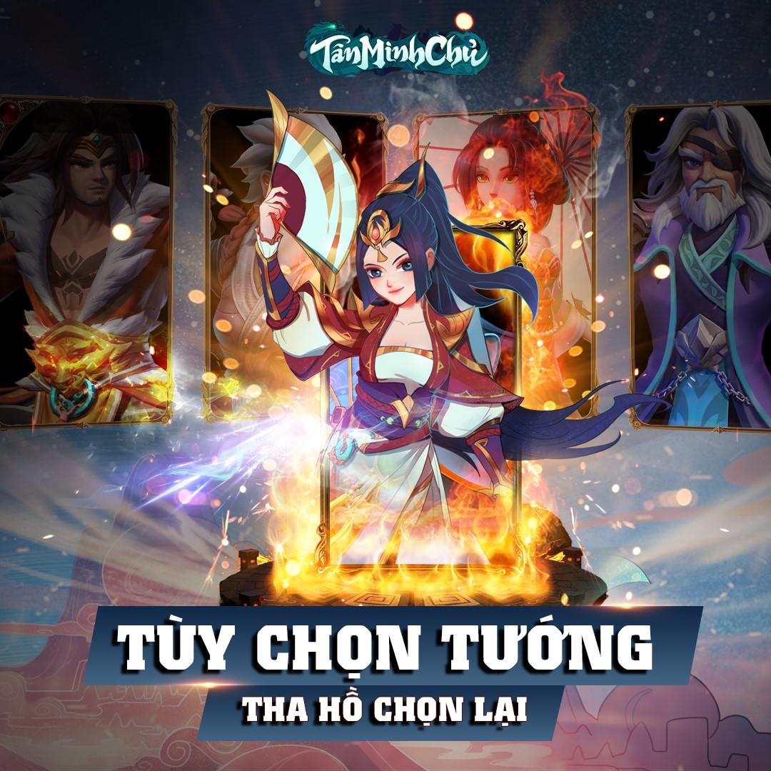 Server mới của Tân Minh Chủ: 4 mã VIPCODE, KNB free, tặng VIP, tặng trang bị, thêm thẻ chiêu mộ tướng - Ảnh 5.