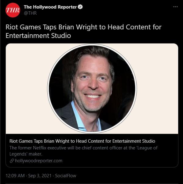 LMHT: Riot Games chơi lớn khi chiêu mộ cựu nhân viên Netflix để đẩy mạnh mảng phim ảnh - Ảnh 1.