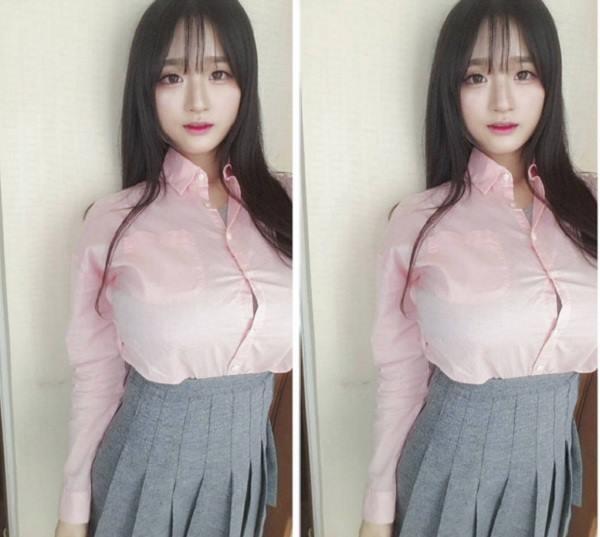 cô giáo hot girl nhanh chóng nổi tiếng vì có vòng một siêu ngoại cỡ Photo-1-1630825239248972913652