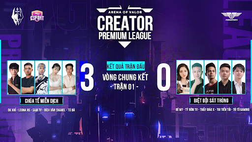 Chung kết AOV Creator Premium League 2-163099268254029581478