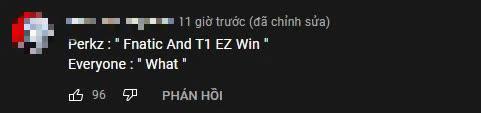 Cho rằng gặp T1 ở CKTG 2021 là sẽ thắng dễ, Perkz bị cộng đồng phản pháo: Muốn thua 0-6 hay gì? - Ảnh 8.