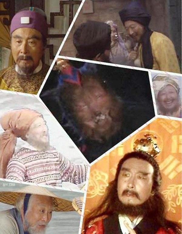 Phó chủ nhiệm Lý Hồng Xương đã tham gia đóng 7 vai, trong đó vai lớn nhất là con Rết Tinh