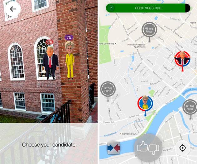 Vui nhộn với Pokemon GO phiên bản tranh cử Tổng Thống Mỹ