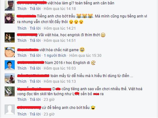 """Đáng buồn! Một lượng lớn game thủ Việt đang quay lưng lại với """"Việt hóa"""""""
