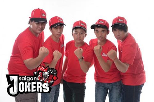 Đây là đội hình đầu tiên của Saigon Jokers