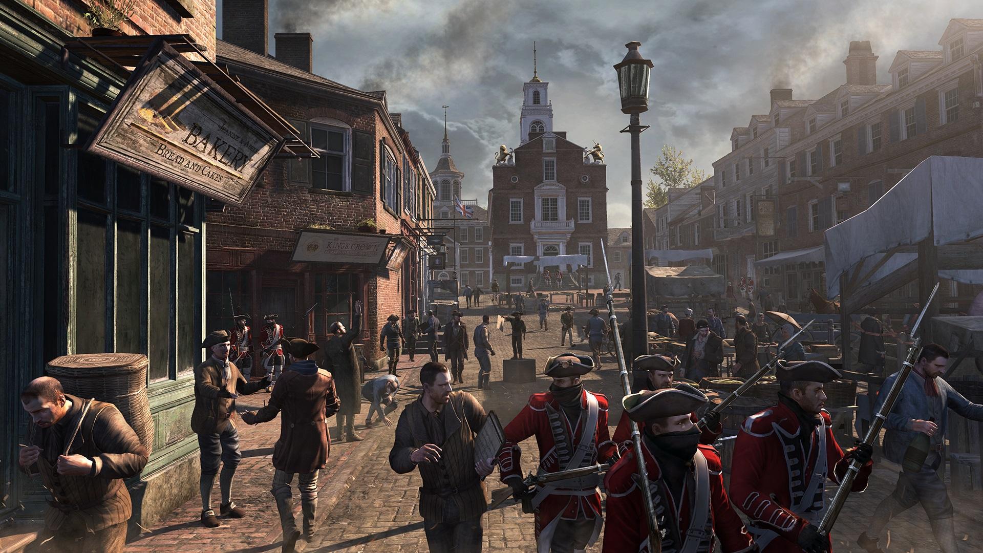 Mừng Giáng sinh, Ubisoft tặng free cả Assassin's Creed 3, không cần phải crack để chơi nữa!