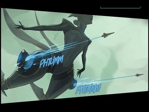 Hãy xem kĩ cách bắn móc của Camille trong phiên bản truyện tranh…