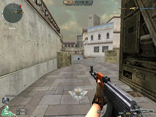 Tự tin lắm mới có những pha lách ra dùng AK/M4 tiêu diệt được các Sniper.