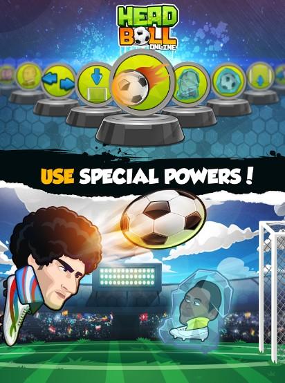 Online Head Ball - Game bóng đá đối kháng cực vui nhộn trên Mobile