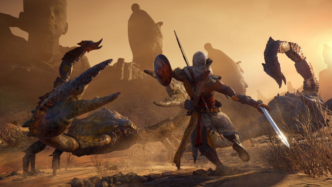 Kết quả hình ảnh cho Assassin's Creed Origins (2017)