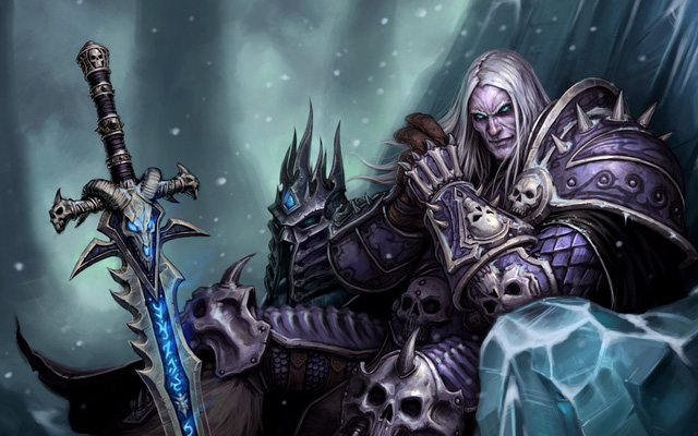 Arthas - Lich King trong World of WarCraft
