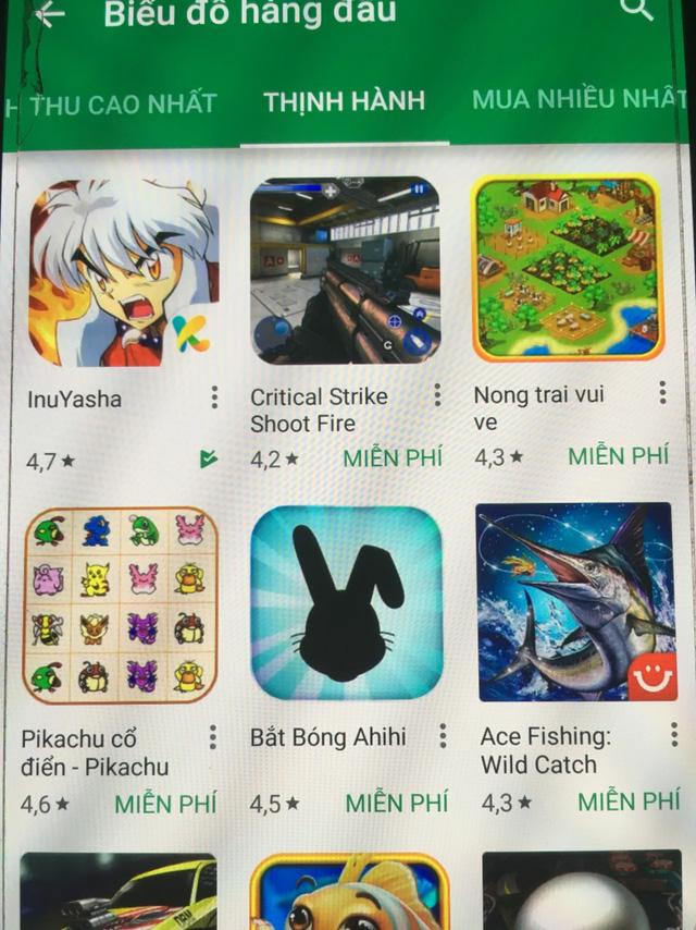 InuYasha Mobile đứng Top 1 trên GooglePlay ngay sau khi ra mắt vào giữa tháng 9 vừa qua