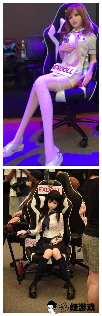 Không chỉ có showgirl người thật, hiện nay thì ChinaJoy 2017 đã có cả showgirl là... búp bê
