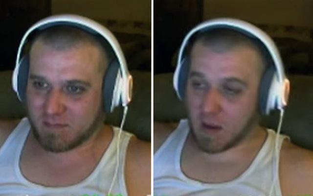 """Hình ảnh của Brian """"Poshybrid"""" Vigneault trong buổi stream"""