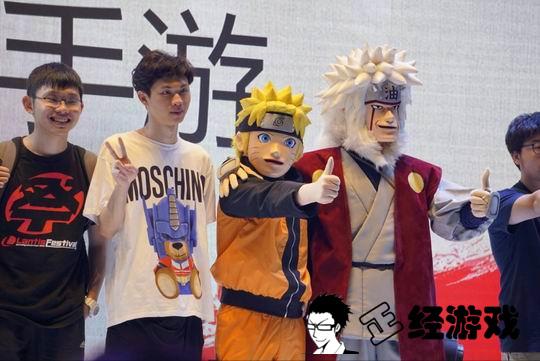 Bó tay cosplay Naruto và Jiraiya