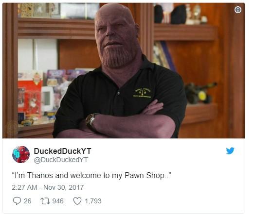Vẫn là Thanos trong TV Show Pawn Shop