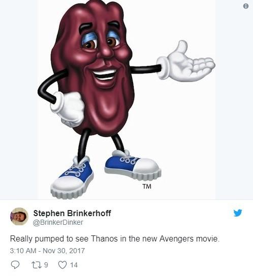 Đây là hình ảnh đầu tiên hiện lên trong đầu tôi khi nhìn thấy Thanos trong phim Avengers