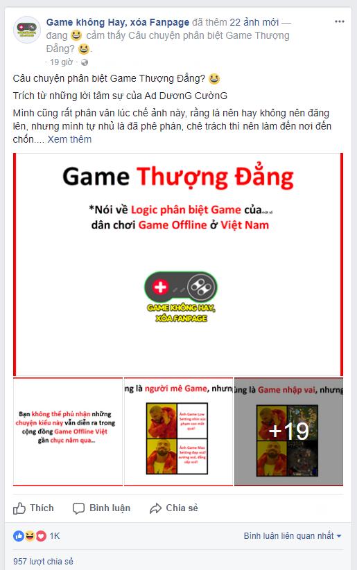 Phân biệt game thượng đẳng, hạ đẳng - câu chuyện nực cười không hồi kết của cộng đồng game Việt.