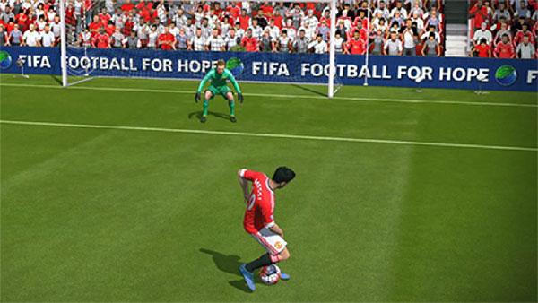 Kỹ thuật FIFA Online 3: Berbatov spin - xoay người 90 độ để xoay ...