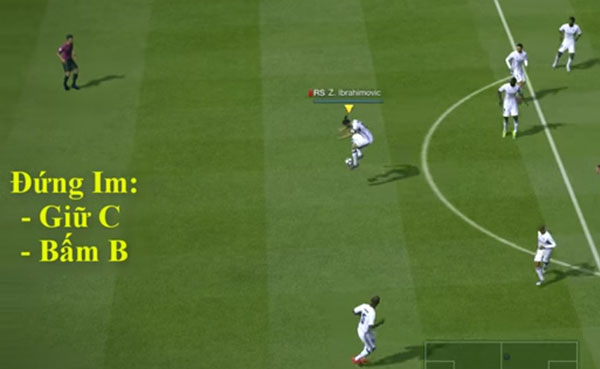cách chuyền bóng chính xác trong fifa online 3