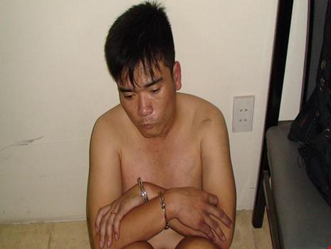 Trương Thanh Vũ đang bị công an bắt giữ
