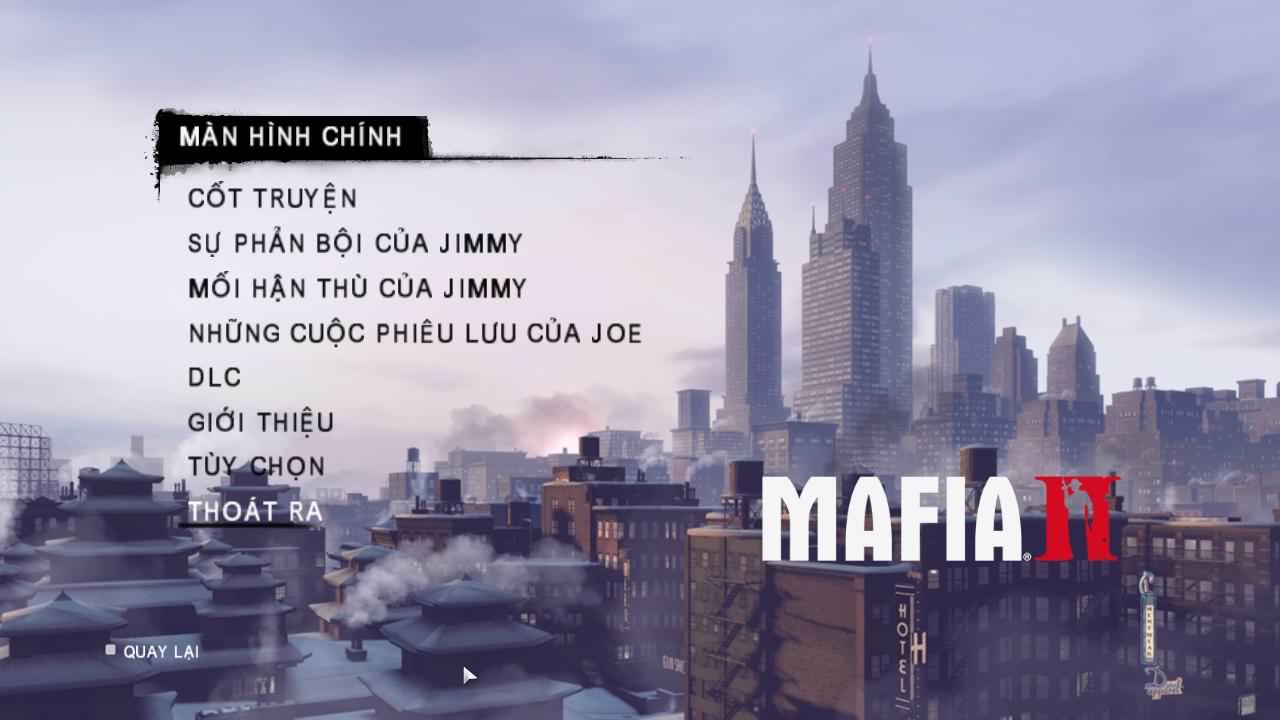 Giữ đúng lời hứa, siêu phẩm Mafia II Việt hóa đã ra mắt đúng ngày Quốc Khánh