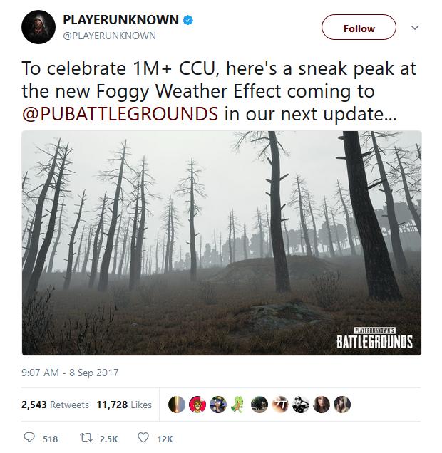"""Battlegrounds chạm ngưỡng 1 triệu người chơi cùng lúc, cha đẻ game hoan hỉ công bố """"sẽ không tăng giá game đâu""""!"""