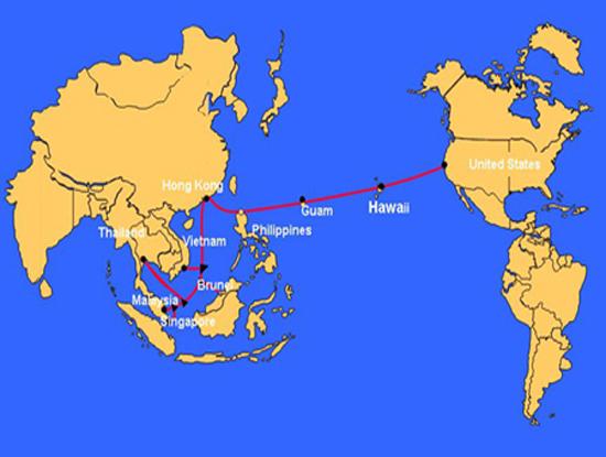 Tính từ đầu năm 2017 đến nay, tuyến cáp quang biển quốc tế AAG đã 4 lần gặp sự cố, lần lượt vào các ngày 8/1, 18/2, 27/8 và 12/10 (Ảnh minh họa. Nguồn ảnh: Internet)