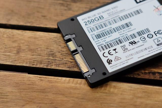 WD Blue 3D NAND SATA 250GB: Ổ cứng SSD hoàn hảo cho nhu cầu game thủ Việt, giá hợp lý mà tải game chỉ vài giây