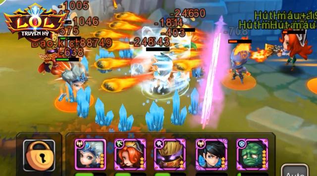 LOL Truyền Kỳ là một trong những game mobile lấy đề tài LOL đầu tiên