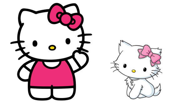 Mèo Kitty đã trở thành một biểu tượng văn hóa của đất nước hoa anh đào.