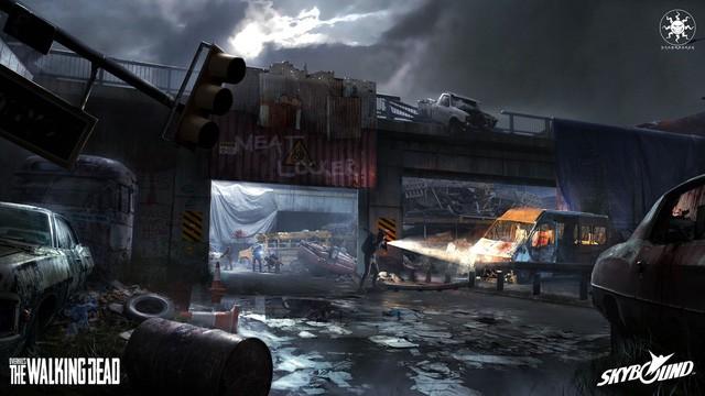 Game đập zombie cực chất Overkill's The Walking Dead ấn định mở cửa vào cuối năm 2018