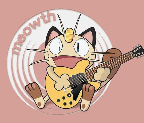Meowth là pokemon duy nhất biết nói tiếng người trong series phim hoạt hình Pokemon.