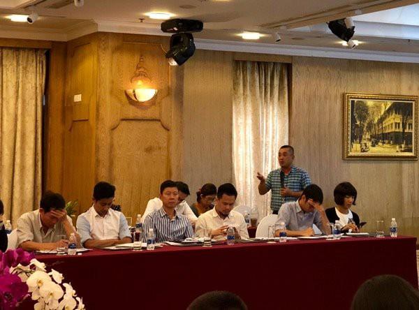 Ông Phạm Quốc Thắng, CEO CMN phát biểu tại hội thảo