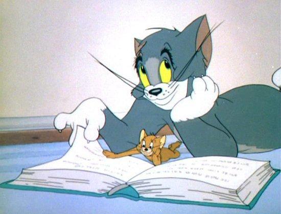 Mèo Tom chú mèo nổi tiếng nhất thế giới.