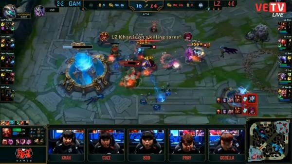 Dẫn trước 10 nghìn vàng, phá hủy 2 đường của Longzhu, đội tuyển LMHT Việt Nam thua trên thế thắng