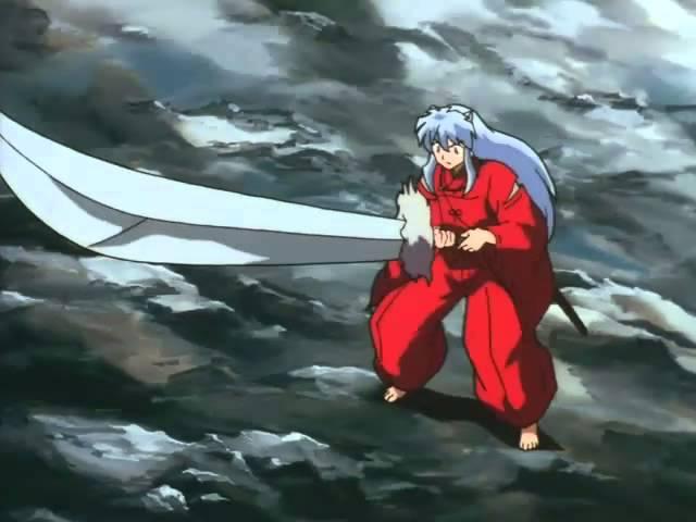 … việc này khiến cho thanh kiếm trở nên rất nặng khiến Khuyển Dạ Xoa không thể nhấc nổi, do sức mạnh của Thiết Toái Nha kể từ lúc được sửa đã bị phụ thuộc vào sức mạnh của Khuyển Dạ Xoa.