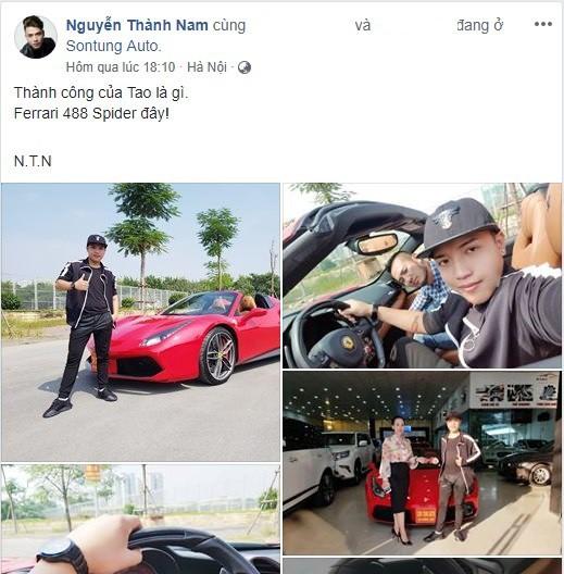 Tin đồn Youtuber Tỷ View mua siêu xe? Sự thật hay một cú sống ảo? - Ảnh 1.