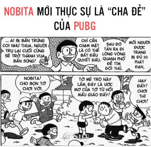 Có thể bạn không tin, nhưng Nobita mới thực sự là cha đẻ của PUBG? - Ảnh 1.