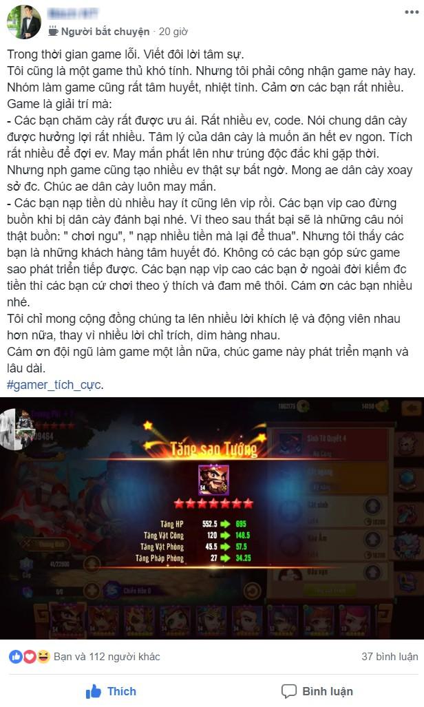 """Sau 2 tháng ra mắt, Thiên Hạ Anh Hùng vẫn được khen là """"game của mọi nhà"""", quá yêu chiều team nông dân - Ảnh 3."""
