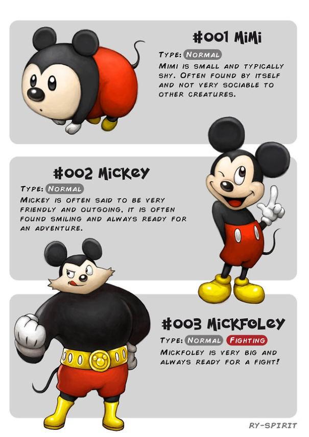 Ngắm chân dung các nhân vật Disney tiến hóa như Pokemon, số 7 còn ngầu hơn cả trong phim - Ảnh 12.